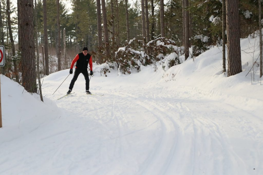 MECA Trails with skier-web